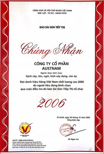 hang viet nam chat luong cao 2006